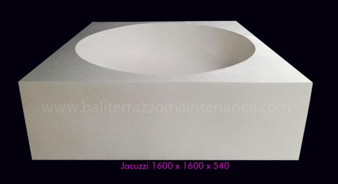 Jacussi 1600 x 1600 x 540
