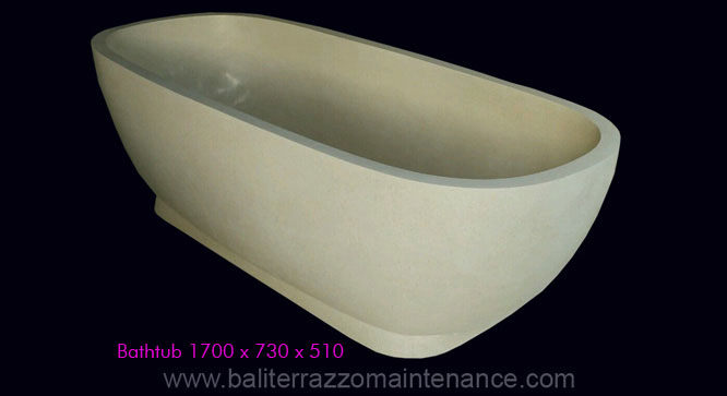 Resin Terrazzo Bathub